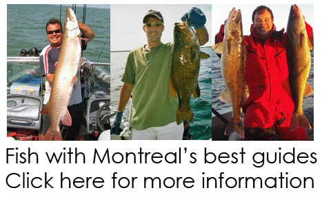 Montreal's best fishing guides